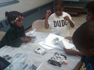 K-8 Kids learn to Build Robots
