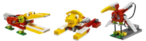 example of a wild animals built of Lego We Do Robots